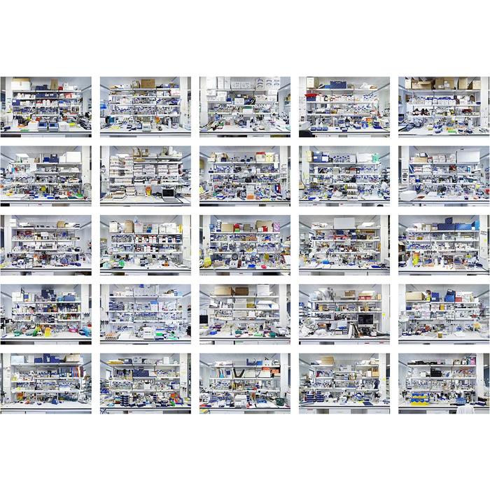 OPTOGENOME VI - 50 benches II (2013)